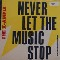 "X-Ample Never Let The Music Stop 12"" 592028"