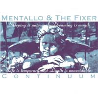 Mentallo & The Fixer Continuum CD 112093
