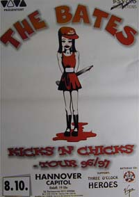 Bates Kicks'n'Chicks Tour 96/97 POSTER 120592