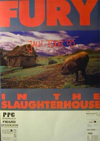 Fury In The Slaughterhouse Jau POSTER 120620