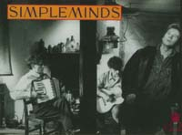 Simple Minds Band CARD 123906