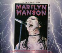 Marilyn Manson Unauthorized Biography CD 136170