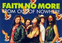 Faith No More From Out Of Nowhere CARD 140350