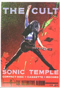 Cult Sonic Temple CARD 144038