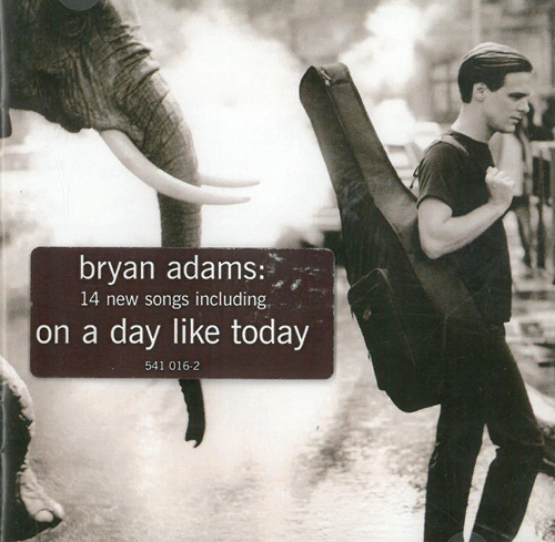 Adams, Bryan On A Days Like Today CD 568893