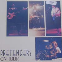 Pretenders On Tour BOOK 576997