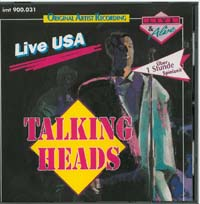Talking Heads Live USA CD 589606