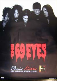 69 Eyes Paris Kills - Promo POSTER 598851